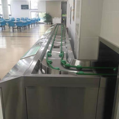 餐盘回收线